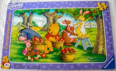Rahmenpuzzle Ernte mit Winnie the Pooh
