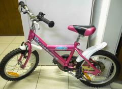 Fahrrad pink