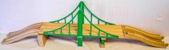 Holzeisenbahn-Brücke 2-spurig