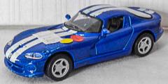 Dodge Viper GTS blau/weiss