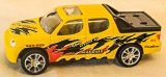 Auto gelb/schwarz 4x4 SUV
