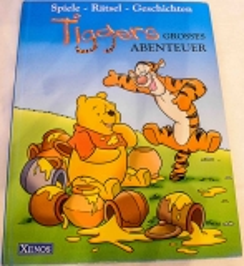 Tigger grosses Abenteuer. Spiele-Rätsel-Geschichten