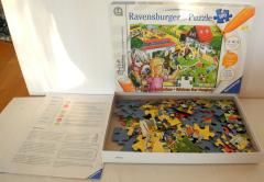 Puzzle der Ponyhof tiptoi