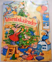 Mäuse Adventskalender. 24 lustige Bilderbüchlein rund um Weihnachten.