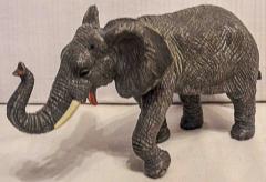 Elefant grau