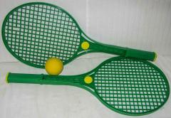 2 Tennisschläger grün