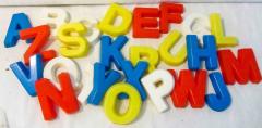 Ausstechformen Buchstaben