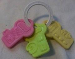 3 Schlüssel von Fisher Price