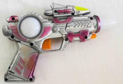 Pistole grau mit Geräusch und Licht