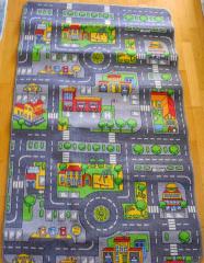 Strassen-Teppich 2-seitig