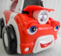 Auto rot/weiss von Tomy