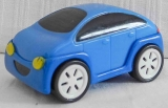 Auto BAO blau