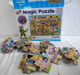 Magic Puzzle Schloss