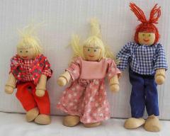 Puppenstuben-Figuren