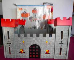 Meine Burg aus Holz