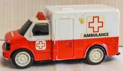 Ambulance rot/weiss