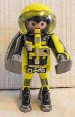 Astronaut gelb/grau