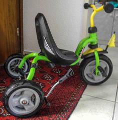 Dreirad grün/schwarz von Puki