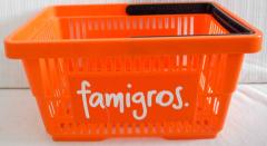 Einkaufkörbli orange famigros