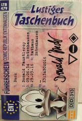 Lustiges Taschenbuch - Führerschein Nr. 479