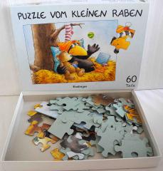 Puzzle vom kleinen Raben - 60 Teile