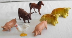 Bauernhoftiere Set 1
