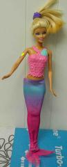 Barbie Meerjungfrau rosa Top und Flossen