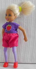 Barbie Kind mit lila Top