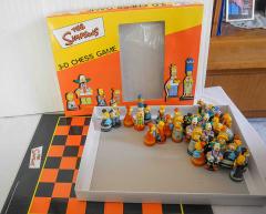 Schachfiguren Simpson 3D