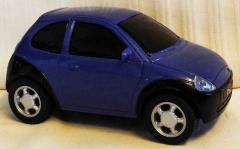 Ford Ka blau