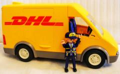 Transporter DHL gelb