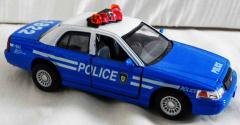 Police blau/weiss 1822