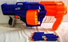 Nerf Surgefire Elite blau/orange