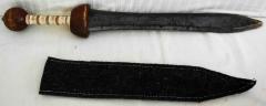 Schwert aus Holz mit Hülle