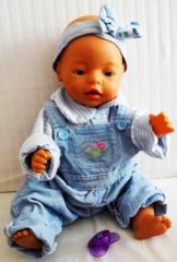 Baby Born mit Nuggi