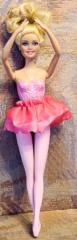 Barbie Ballerina mit pinkem Jupe