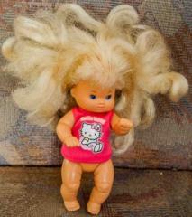 Barbie Kleinkind pinkem Pullover
