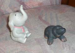 Elefant Wendelin und Maulwurf