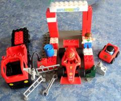 Lego Duplo Ferrari-Set