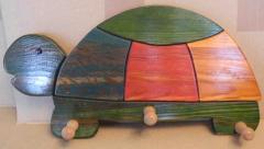 Garderobe Schildkröte aus Holz