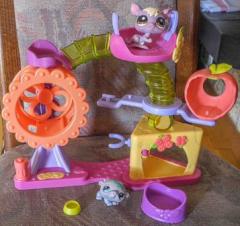 Littlest Pet Shop Hamsterspielplatz