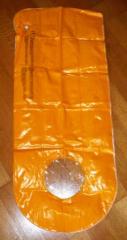 Luftmaträtzli Orange/weiss NEU