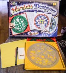 Mandala Designer Weihnahten und 1 Schablone Ocean