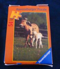 Mini Puzzle Pferde