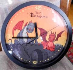 Uhr Dragons von Nici